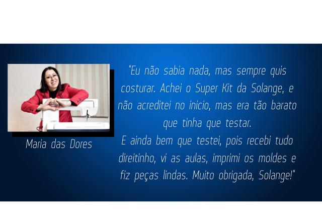 Super Kit de Costura - Solange Pereira
