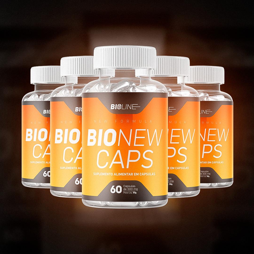 Bionew Caps - 5 Potes