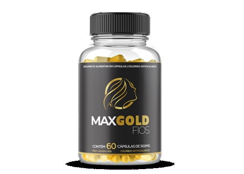 1 Pote Max Gold Fios 60% OFF