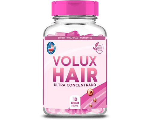 1 Pote Volux Hair Frete Grátis