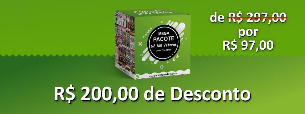 Mega Pacote 62 Mil Vetores 100% para CorelDraw