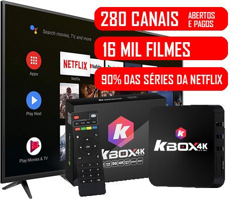 Leve mais 2 KBOXTV com Desconto de R$ 100,00