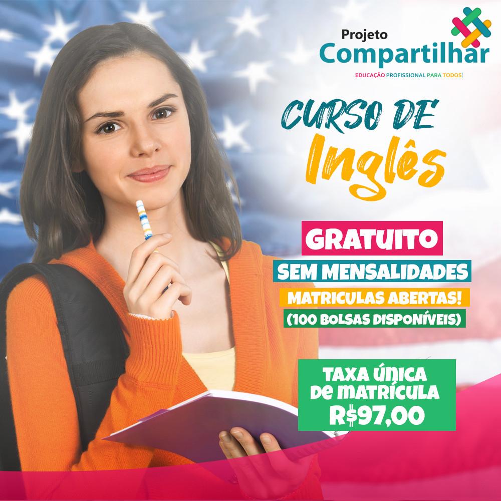 CURSO DE INGLÊS COMPLETO - R$97,00 - CARTÃO