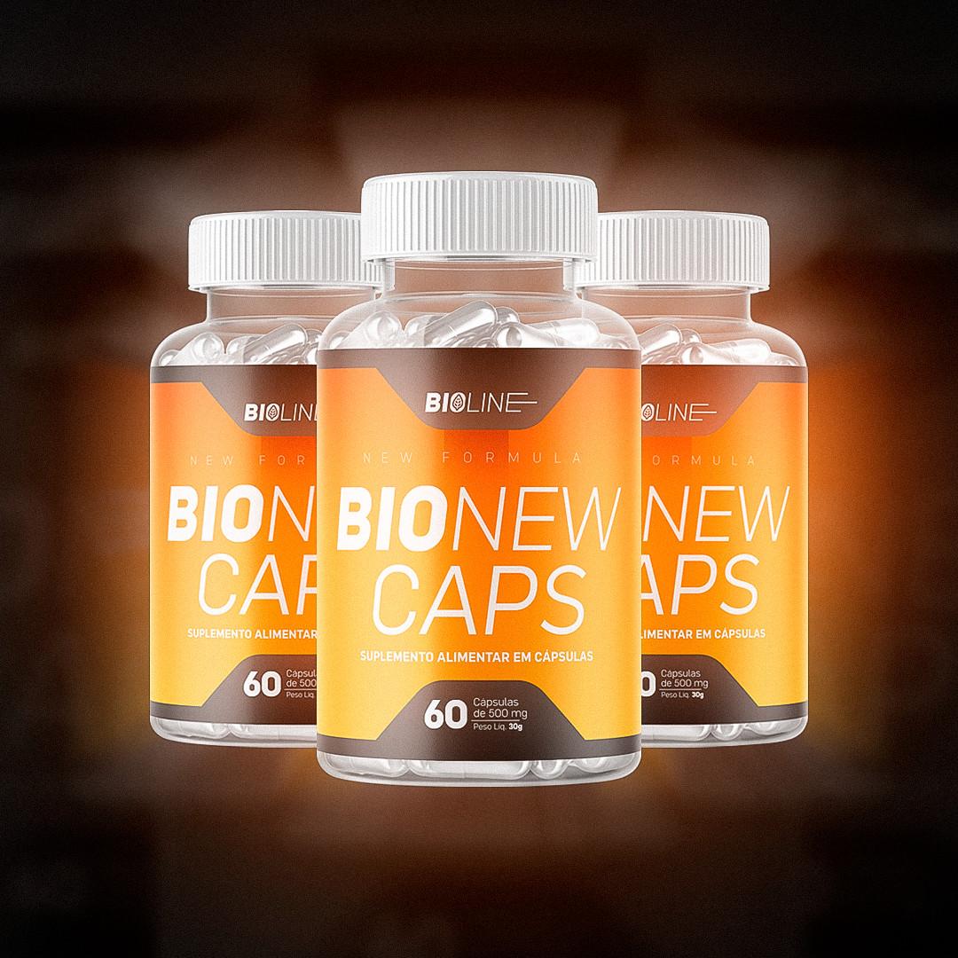 Bionew Caps - 3 potes