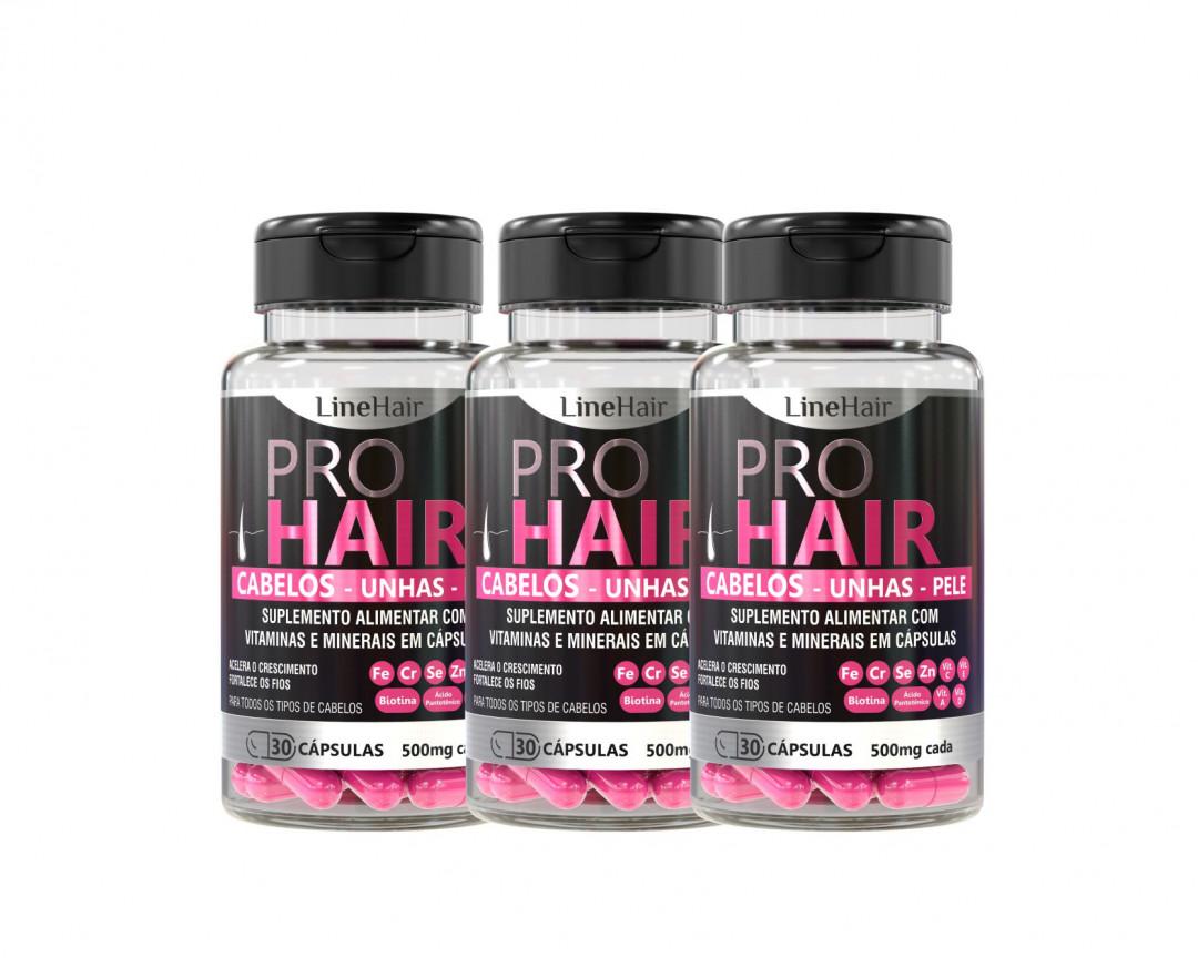 Grow Hair Caps - 3 potes